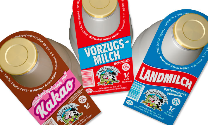 Unsere Weidenhofmilch