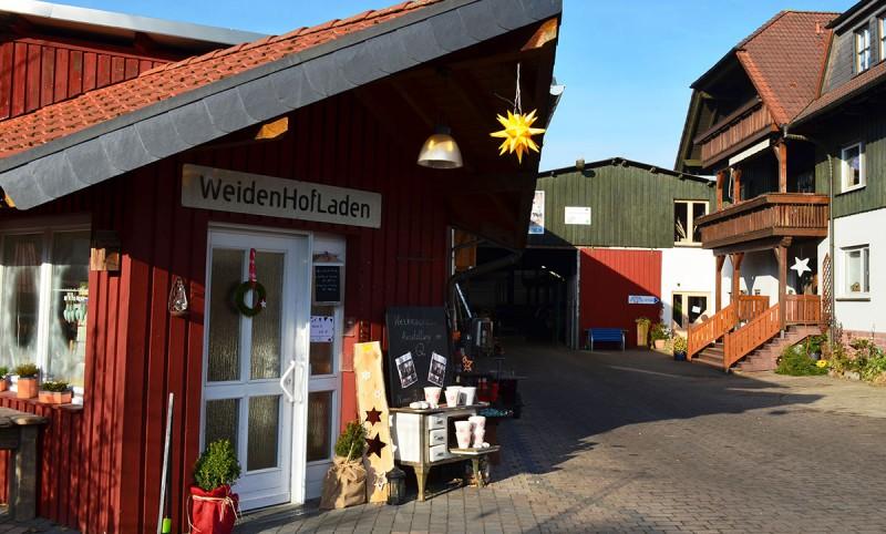 Weidenhof und WeidenHofLaden